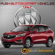 2018 Buick Enclave Plug & Play Remote Start Kit (Push Button Start)