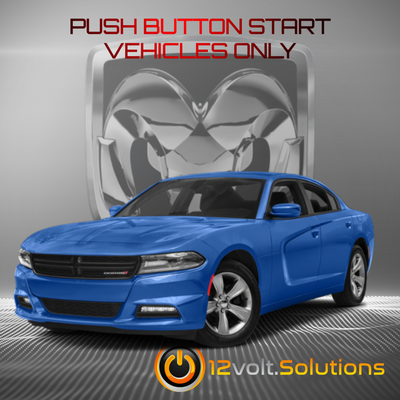 2018 Dodge Charger Plug & Play Remote Start Kit (Push Button Start)