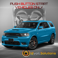 2018-2019 Dodge Durango Plug & Play Remote Start Kit (Push Button Start)