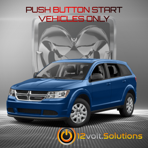 2018 Dodge Journey Plug & Play Remote Start Kit (Push Button Start)