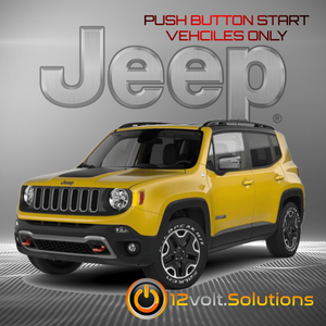 2018-2019 Jeep Renegade Plug & Play Remote Start Kit (Push Button Start)