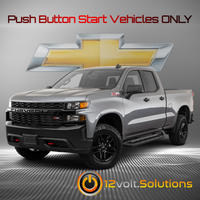2019-2020 Chevrolet Silverado 1500 Plug and Play Remote Start Kit (Push Button Start)