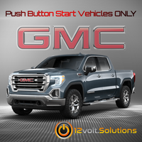 2019-2020 GMC Sierra 1500 Plug and Play Remote Start Kit (Push Button Start)
