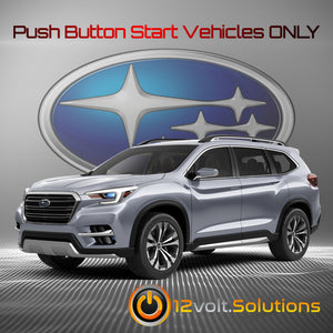 2019-2020 Subaru Ascent Plug and Play Remote Start Kit (Push Button Start)