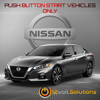 2019-2020 Nissan Altima Remote Start Plug and Play Kit (Push Button Start)