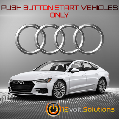 2019-2020 Audi A7 Plug and Play Remote Start Kit