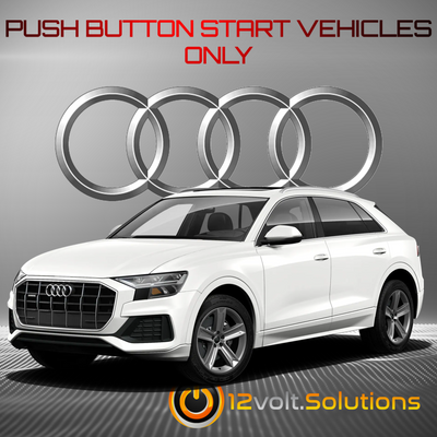 2020-2021 Audi SQ8 Plug and Play Remote Start Kit