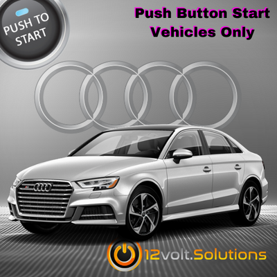 2019-2021 Audi S3 Plug and Play Remote Start Kit (Push Button Start)