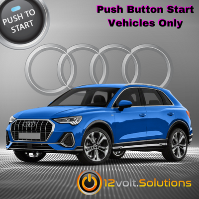 2019-2021 Audi Q3 Plug and Play Remote Start Kit (Push Button Start)