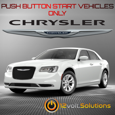 2019-2021 Chrysler 300 Plug & Play Remote Start Kit (Push Button Start)