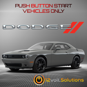 2019 Dodge Challenger Plug & Play Remote Start Kit (Push Button Start)