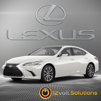 2019-2020 Lexus ES350 Plug & Play Remote Start Kit (Push Button Start)