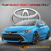 2019 Toyota Corolla Hatchback Plug & Play Remote Start Kit (Push Button Start)