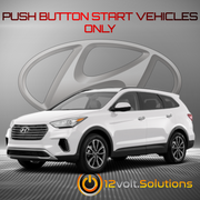 2019 Hyundai Santa Fe XL Remote Start Plug and Play Kit (Push Button Start)