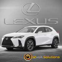 2019 Lexus UX250h Plug & Play Remote Start Kit (Push Button Start)