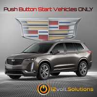 2020 Cadillac XT6 Plug and Play Remote Start Kit (Push Button Start)