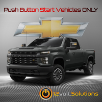2020 Chevrolet Silverado 2500/3500 Plug and Play Remote Start Kit (Push Button Start)