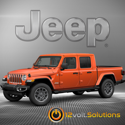 2020 Jeep Gladiator Plug & Play Remote Start Kit