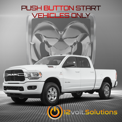 2019-2021 RAM 2500 3500 Truck Plug & Play Remote Start Kit (Push Button Start)