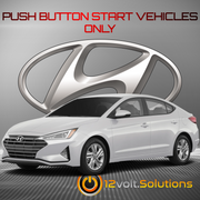 2017-2020 Hyundai Elantra Remote Start Plug and Play Kit (Push Button Start)