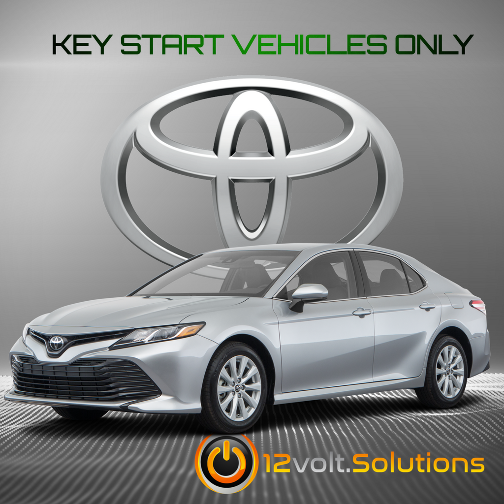 2018-2020 Toyota Camry Plug And Play Remote Start Kit (Key