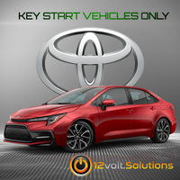 2020 Toyota Corolla Plug and Play Remote Start Kit (Key Start)