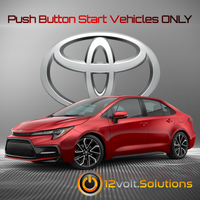 2020-2021 Toyota Corolla Plug & Play Remote Start Kit (Push Button Start)