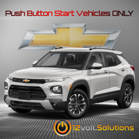 2021 Chevrolet Trailblazer Plug and Play Remote Start Kit (Push Button Start)