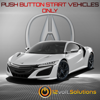 2016-2020 Acura NSX Plug and Play Remote Start Kit