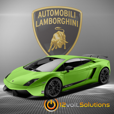 2004-2014 Lamborghini Gallardo Plug and Play Remote Start Kit