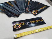 12volt.Solutions Logo Vinyl Decal