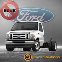 2021 Ford E-Series Remote Start Plug and Play Kit - NO HORN HONK