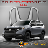 2019 Honda Passport Plug & Play Remote Start Kit (Push Button Start)