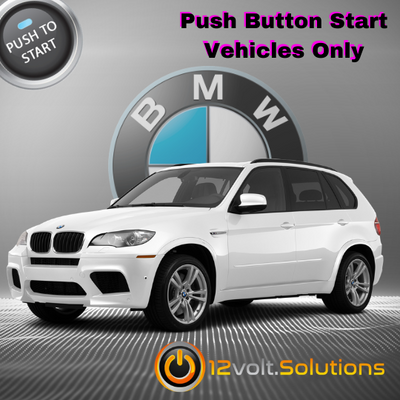 2007-2013 BMW X5 Plug and Play Remote Start Kit (Push Button Start)