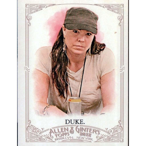 2012 Topps Allen and Ginter #87 Annie Duke Poker Trading Card