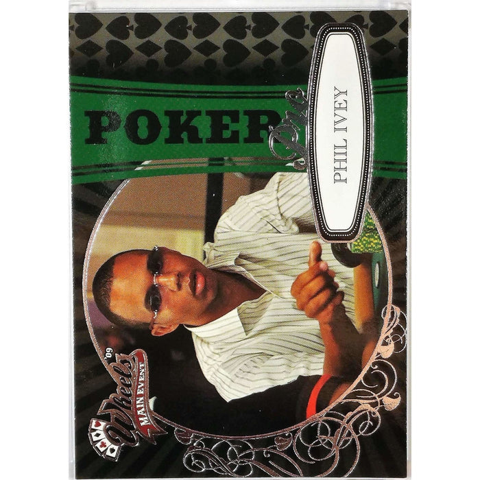 2009 Press Pass Wheels Main Event #84 Phil Ivey Poker Trading Card