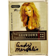 Cindy Margolis 2006 Razor Poker iCard #A-38 Showdown Signature Poker Trading Card 24/25