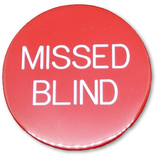 Missed Blind Button Black or Red Hold'em and Omaha Poker