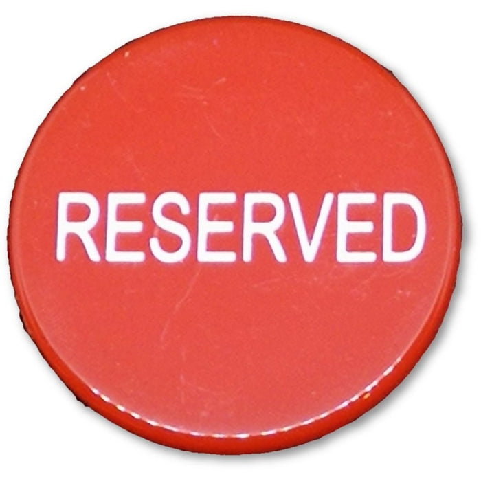 Reserved Seat Button Hold'em and Omaha Poker