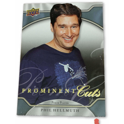 Phil Hellmuth #24 2009 UD Prominent Cuts Poker Trading Card