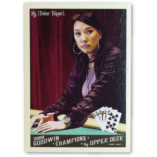 Evelyn Ng #105 2009 Upper Deck Goodwin Champions Poker Trading Card