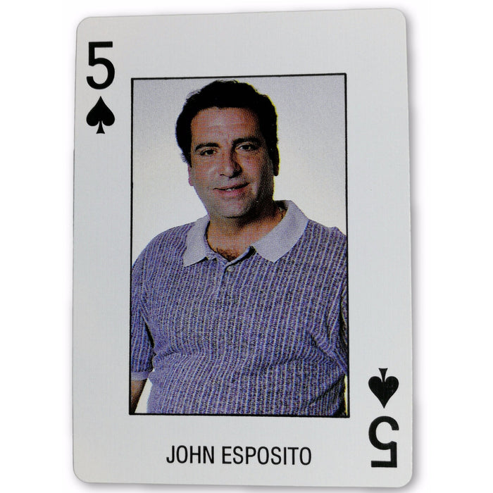 John Esposito Pro Deck Poker Pro Playing Card 5 of Spades