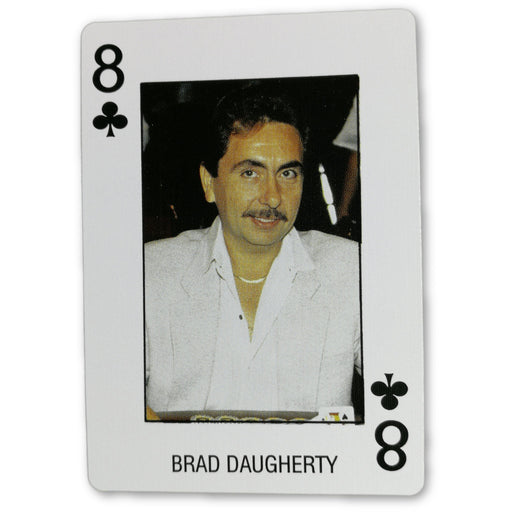 Brad Daugherty Pro Deck Poker Pro Playing Card 8 of Clubs