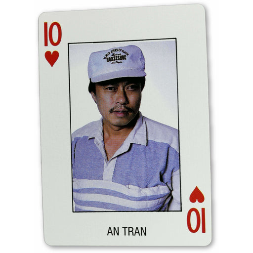 An Tran Pro Deck Poker Pro Playing Card Ten of Hearts
