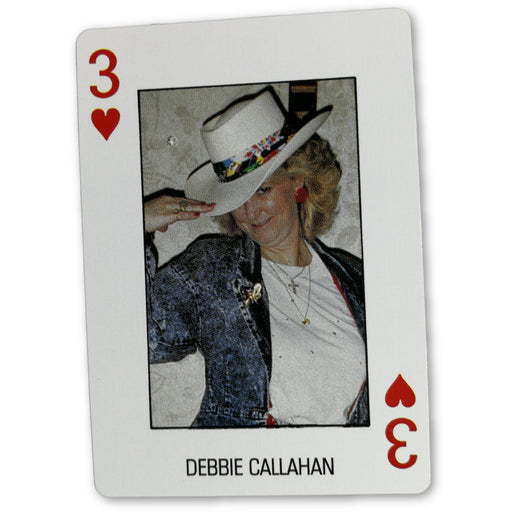 Debbie Callahan Pro Deck Poker Pro Playing Card 3 of Hearth