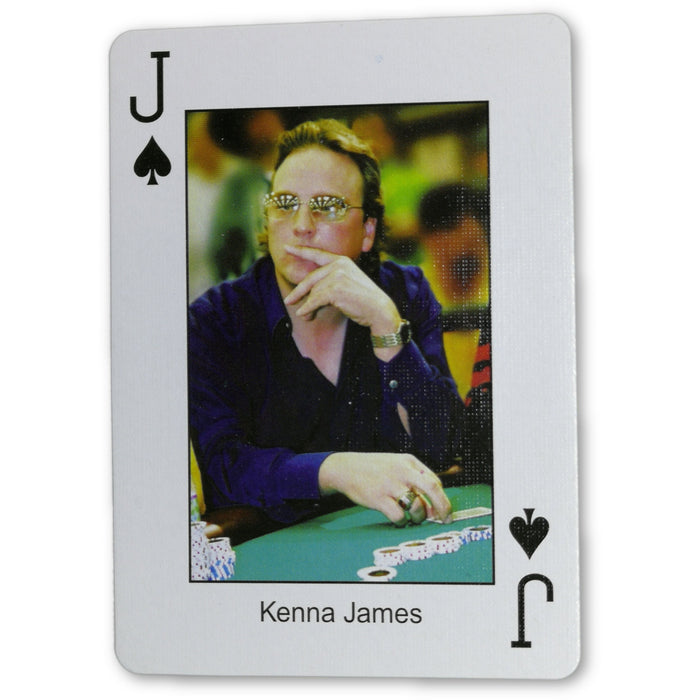 Kenna James Pokers Most Wanted Poker Pro Playing Card Jack of Spades