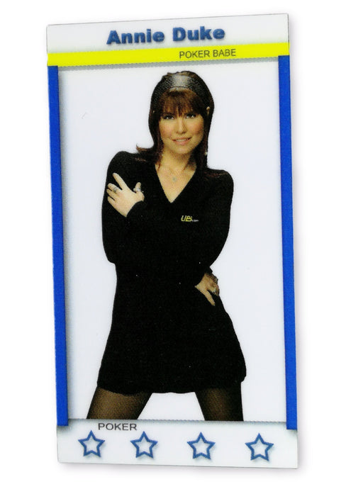 Annie Duke 2011 Fa Productions Mini Star Series 9 of 12 Poker Trading Card