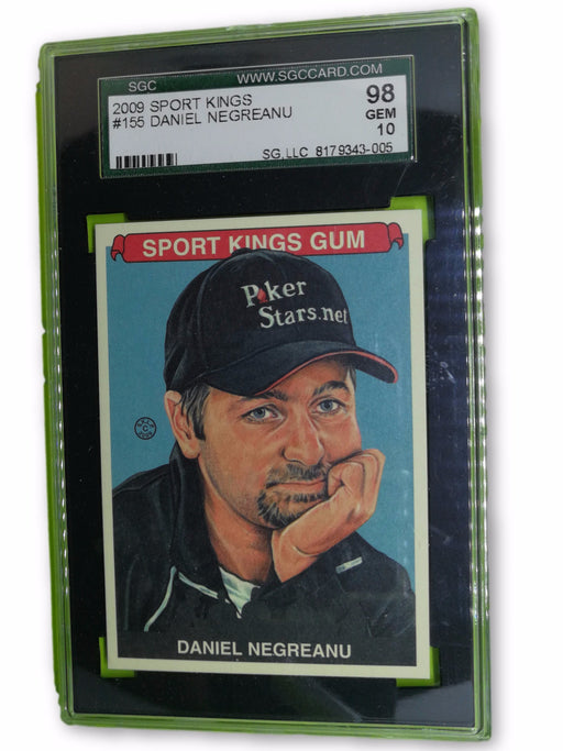 Daniel Negreanu 2009 Sportkings Series C #155 Base Trading Card SGC Graded 10