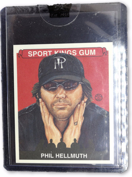 Phil Hellmuth 2007 Sportkings Series A Mini #13 Base Poker Trading Card