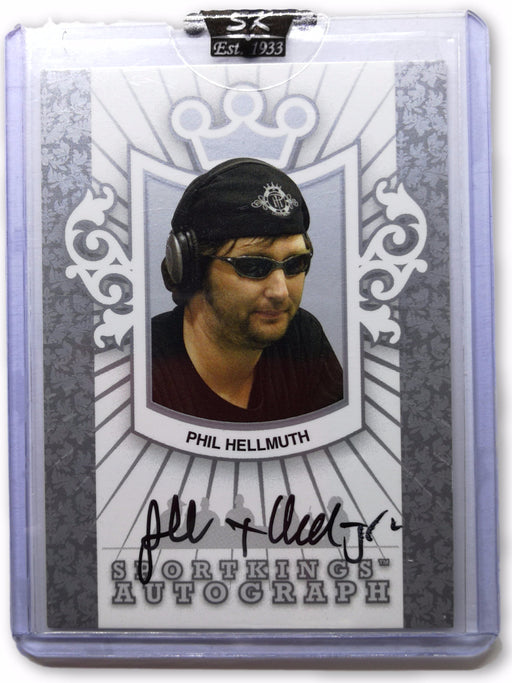 Phil Hellmuth 2007 Sportkings Autograph Silver #APH Poker Trading Card 1 of 99